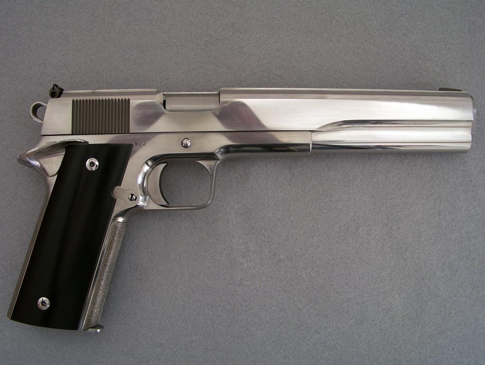 Lou's Gun Work - Handgun Gunsmithing - Handgun Checkering