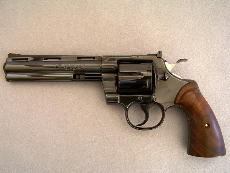 Colt python gun